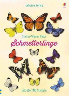 Sticker-Wissen Natur: Schmetterlinge - Hyde, George E.