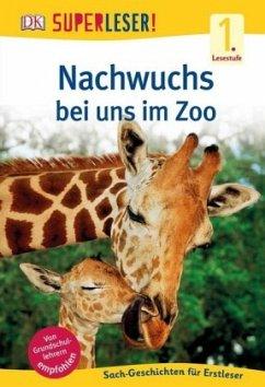 SUPERLESER! Nachwuchs bei uns im Zoo / Superleser 1. Lesestufe Bd.4