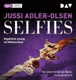 Selfies / Carl Mørck. Sonderdezernat Q Bd.7 (2 MP3-CDs) - Adler-Olsen, Jussi