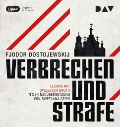Verbrechen und Strafe, 3 MP3-CD - Dostojewskij, Fjodor M.