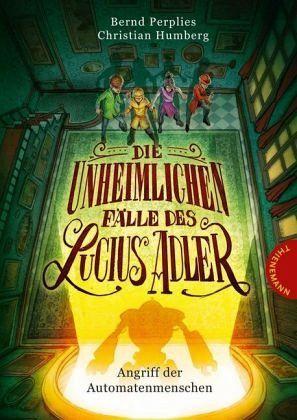 Buch-Reihe Die unheimlichen Fälle des Lucius Adler