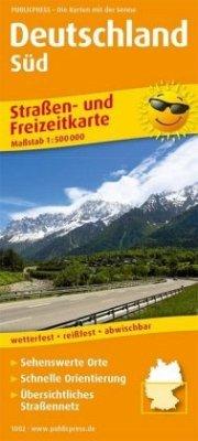 PublicPress Straßen- und Freizeitkarte Deutschl...