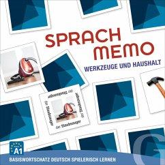 Sprachmemo Deutsch: Werkzeuge und Haushalt (Spiel)