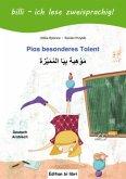 Pias besonderes Talent. Kinderbuch Deutsch-Arabisch mit Leserätsel