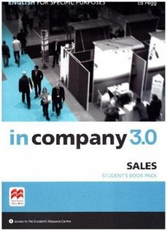 In Company 3.0 - Sales. Student's Book with Online-Student's Resource Center - Pegg, Ed