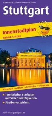 PublicPress Innenstadtplan Stuttgart