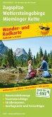 PublicPress Wander- und Radkarte Zugspitze, Wettersteingebirge, Mieminger Kette