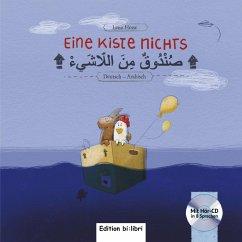 Eine Kiste Nichts. Kinderbuch Deutsch-Arabisch - Hesse, Lena