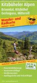 PublicPress Wander- und Radkarte Kitzbüheler Alpen, Brixental, Kitzbühel, Gerlospass, Mittersill
