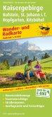 PublicPress Wander- und Radkarte Kaisergebirge, Kufstein, St. Johann i.T., Hopfgarten, Kitzbühel