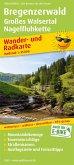 PublicPress Wander- und Radkarte Bregenzerwald, Großes Walsertal, Nagelfluhkette