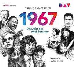 1967: Das Jahr der zwei Sommer, 6 Audio-CDs - Pamperrien, Sabine