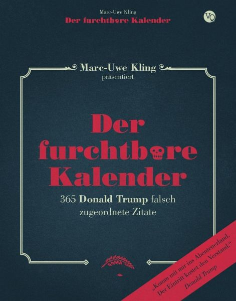 Der furchtbare Kalender - Kling, Marc-Uwe