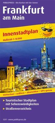 PublicPress Innenstadtplan Frankfurt am Main