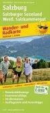 PublicPress Wander- und Radkarte Salzburg, Salzburger Seenland, Westliches Salzkammergut