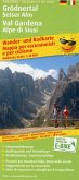 PublicPress Wander- und Radkarte Grödnertal, Seiser Alm / Val Gardena, Alpe di Siusi