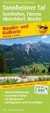 PublicPress Wander- und Radkarte Tannheimer Tal, Sonthofen, Füssen, Oberstdorf, Reutte