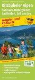 PublicPress Wander- und Radkarte Kitzbüheler Alpen, Saalbach-Hinterglemm, Saalfelden, Zell am See