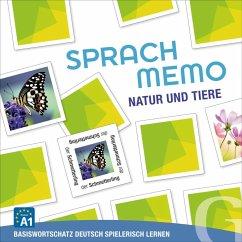 Sprachmemo Deutsch: Natur und Tiere (Spiel)