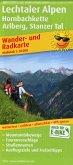 PublicPress Wander- und Radkarte Lechtaler Alpen, Hornbachkette, Arlberg, Stanzer Tal
