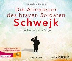 Die Abenteuer des braven Soldaten Schwejk, 8 Audio-CDs - Hasek, Jaroslav