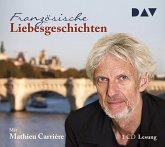 Französische Liebesgeschichten, 1 Audio-CD