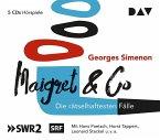 Maigret & Co - Die rätselhaftesten Fälle, 5 Audio-CDs