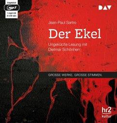 Der Ekel, 1 MP3-CD - Sartre, Jean-Paul
