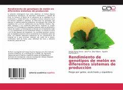 Rendimiento de genotipos de melón en diferentes sistemas de producción