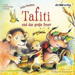Tafiti und das große Feuer / Tafiti Bd.8 (1 Audio-CD) - Boehme, Julia