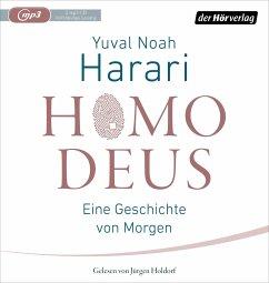 Homo Deus, 2 MP3-CDs - Harari, Yuval Noah