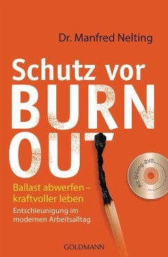 Schutz vor Burn-out - Nelting, Manfred