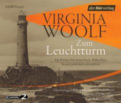 Zum Leuchtturm, 3 Audio-CDs - Woolf, Virginia