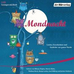 Mondnacht, 1 Audio-CD - Fontane, Theodor; Krüss, James; Rilke, Rainer Maria; Storm, Theodor