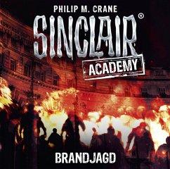 Brandjagd / Sinclair Academy Bd.12 (2 Audio-CDs)
