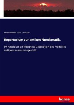 9783743431331 - Friedländer, Julius: Repertorium zur antiken Numismatik - Book