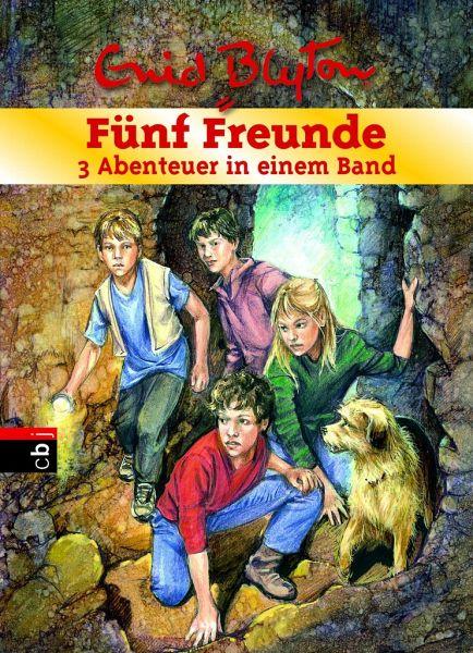 Fünf Freunde - 3 Abenteuer in einem Band / Fünf Freunde Sammelbände Bd.21