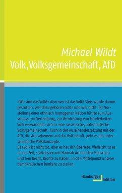 Volk, Volksgemeinschaft, AfD - Wildt, Michael