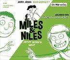 Jetzt wird's wild / Miles & Niles Bd.3 (3 Audio-CDs)