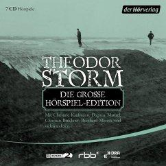 Die große Hörspiel-Edition, 7 Audio-CDs - Storm, Theodor