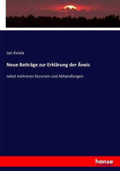 9783743431058 - Kviala, Jan: Neue Beiträge zur Erklärung der Äneis - Book