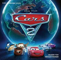 Cars 2, 2 Audio-CDs - Papademetriou, Lisa