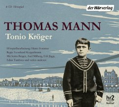 Tonio Kröger, 4 Audio-CDs - Mann, Thomas