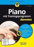 Piano mit Trainingsprogramm für Dummies, m. DVD-ROM