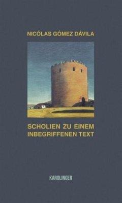 Scholien zu einem inbegriffenen Text