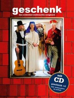 Geschenk: Das Erdmöbel-Weihnachts-Songbuch, m. Audio-CD - Erdmöbel