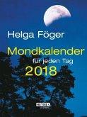 Mondkalender für jeden Tag 2018 Taschenkalender