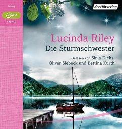 Die Sturmschwester / Die sieben Schwestern Bd.2 (MP3-CD) - Riley, Lucinda