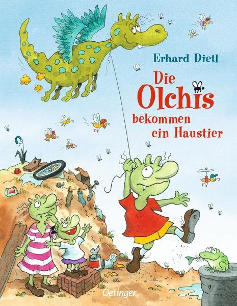 Buch-Reihe Die Olchis von Erhard Dietl