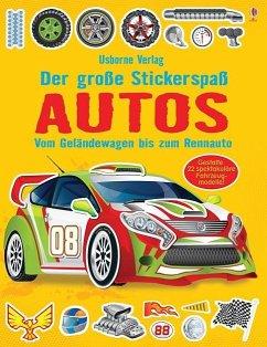 Der große Stickerspaß: Autos - Tudhope, Simon